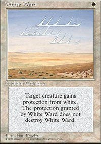 White Ward [Fourth Edition] | Dragons Den Cards & Games