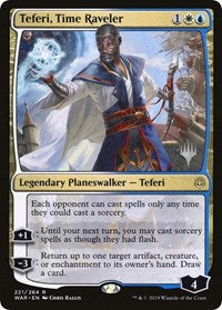 Teferi, Time Raveler [Promo Pack: Throne of Eldraine] | Dragons Den Cards & Games