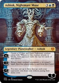Ashiok, Nightmare Muse (Borderless) [Theros Beyond Death] | Dragons Den Cards & Games
