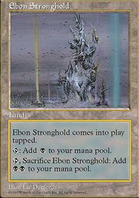 Ebon Stronghold [Fifth Edition] | Dragons Den Cards & Games