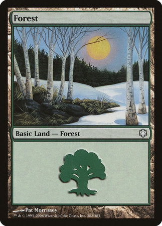 Forest (382) [Coldsnap Theme Decks] | Dragons Den Cards & Games