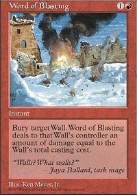Word of Blasting [Fifth Edition] | Dragons Den Cards & Games