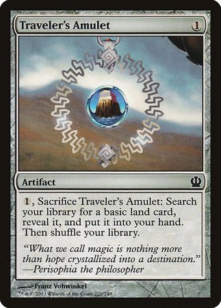 Traveler's Amulet [Theros] | Dragons Den Cards & Games