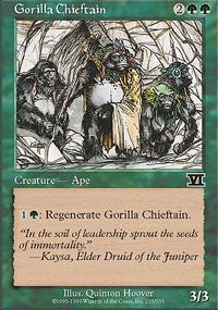 Gorilla Chieftain [Classic Sixth Edition] | Dragons Den Cards & Games