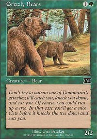 Grizzly Bears [Classic Sixth Edition] | Dragons Den Cards & Games