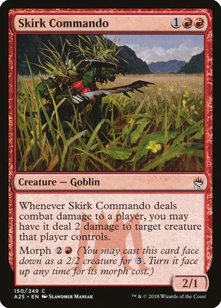Skirk Commando [Masters 25] | Dragons Den Cards & Games