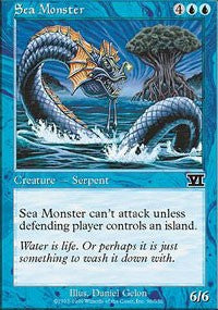 Sea Monster [Classic Sixth Edition] | Dragons Den Cards & Games
