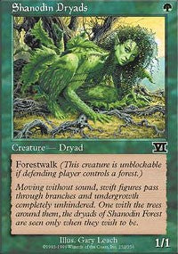 Shanodin Dryads [Classic Sixth Edition] | Dragons Den Cards & Games