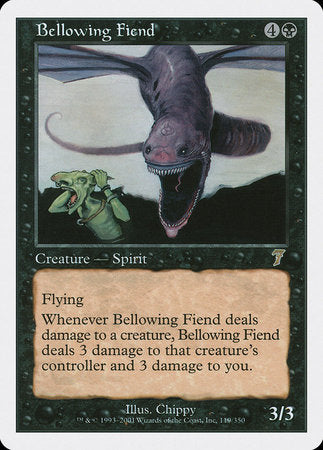 Bellowing Fiend [Seventh Edition] | Dragons Den Cards & Games