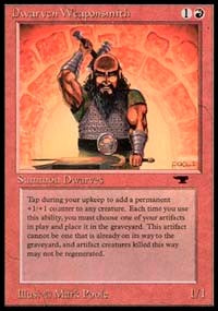 Dwarven Weaponsmith [Antiquities] | Dragons Den Cards & Games