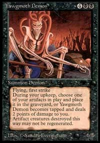 Yawgmoth Demon [Antiquities] | Dragons Den Cards & Games