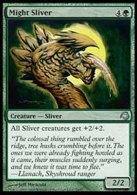 Might Sliver [Premium Deck Series: Slivers] | Dragons Den Cards & Games