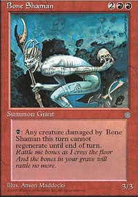 Bone Shaman [Ice Age] | Dragons Den Cards & Games