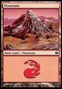 Mountain (81) [Duel Decks: Knights vs. Dragons] | Dragons Den Cards & Games