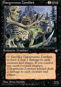 Gangrenous Zombies [Ice Age] | Dragons Den Cards & Games
