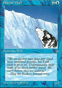 Glacial Wall [Ice Age] | Dragons Den Cards & Games