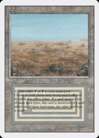 Scrubland [Revised Edition] | Dragons Den Cards & Games