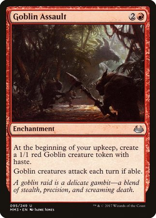 Goblin Assault [Modern Masters 2017] | Dragons Den Cards & Games