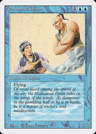 Mahamoti Djinn [Revised Edition] | Dragons Den Cards & Games
