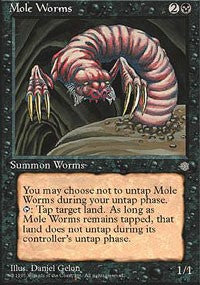 Mole Worms [Ice Age] | Dragons Den Cards & Games