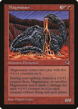 Magmasaur [Tempest] | Dragons Den Cards & Games