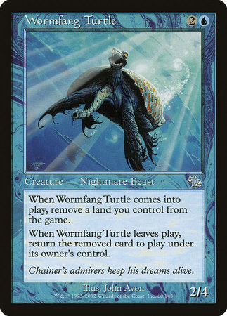Wormfang Turtle [Judgment] | Dragons Den Cards & Games