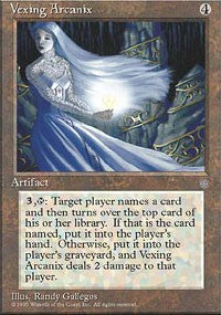Vexing Arcanix [Ice Age] | Dragons Den Cards & Games