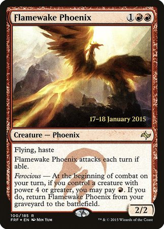Flamewake Phoenix [Fate Reforged Promos] | Dragons Den Cards & Games