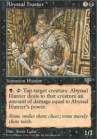 Abyssal Hunter [Mirage] | Dragons Den Cards & Games