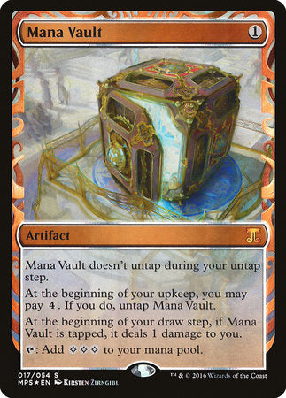 Mana Vault [Kaladesh Inventions] | Dragons Den Cards & Games