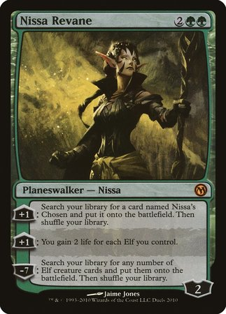 Nissa Revane [Duels of the Planeswalkers Promos 2010] | Dragons Den Cards & Games