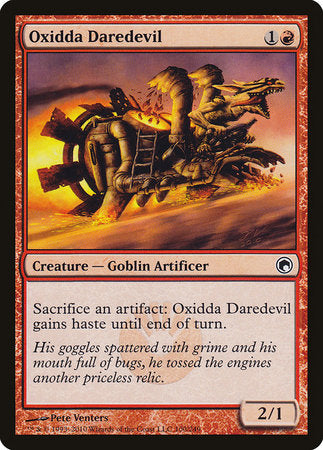 Oxidda Daredevil [Scars of Mirrodin] | Dragons Den Cards & Games