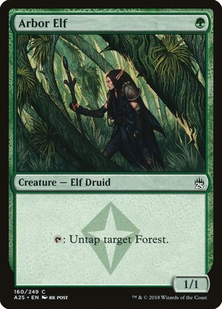 Arbor Elf [Masters 25] | Dragons Den Cards & Games