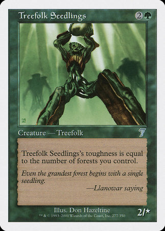 Treefolk Seedlings [Seventh Edition] | Dragons Den Cards & Games