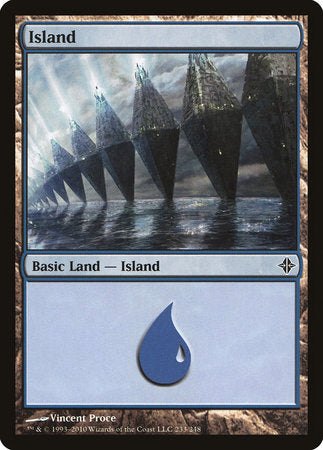 Island (233) [Rise of the Eldrazi] | Dragons Den Cards & Games