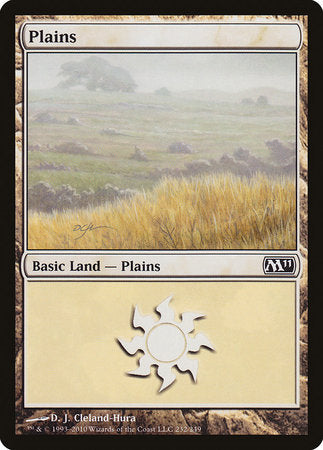Plains (232) [Magic 2011] | Dragons Den Cards & Games