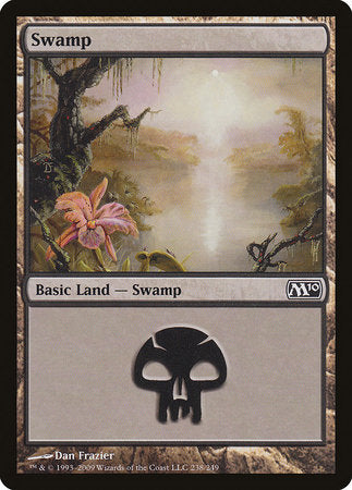 Swamp (238) [Magic 2010] | Dragons Den Cards & Games