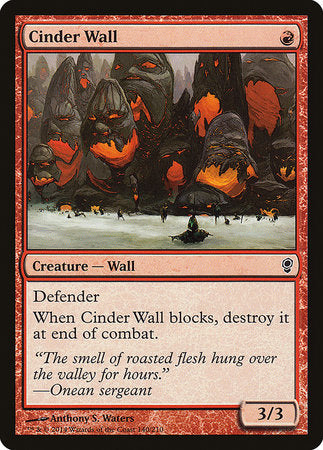 Cinder Wall [Conspiracy] | Dragons Den Cards & Games