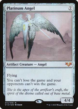 Platinum Angel [From the Vault: Angels] | Dragons Den Cards & Games