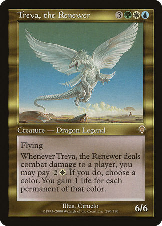 Treva, the Renewer [Invasion] | Dragons Den Cards & Games
