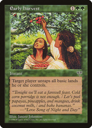 Early Harvest [Mirage] | Dragons Den Cards & Games