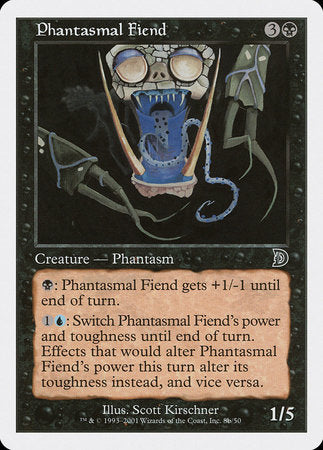 Phantasmal Fiend (Head) [Deckmasters] | Dragons Den Cards & Games