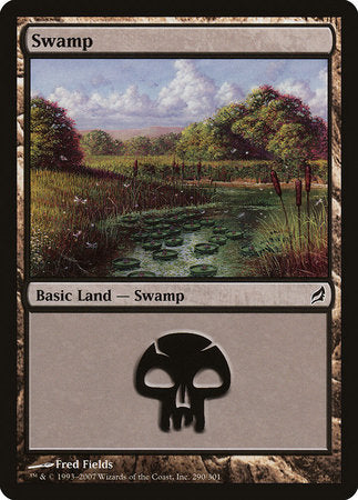 Swamp (290) [Lorwyn] | Dragons Den Cards & Games
