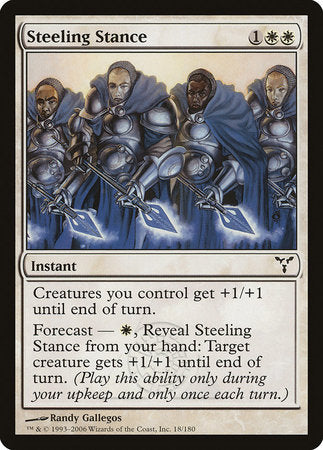 Steeling Stance [Dissension] | Dragons Den Cards & Games