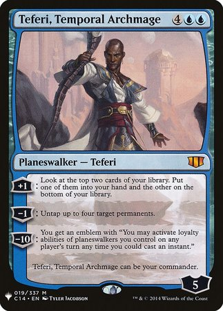Teferi, Temporal Archmage [Mystery Booster] | Dragons Den Cards & Games