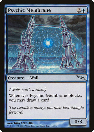 Psychic Membrane [Mirrodin] | Dragons Den Cards & Games