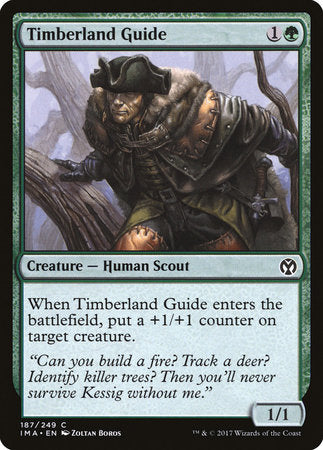 Timberland Guide [Iconic Masters] | Dragons Den Cards & Games
