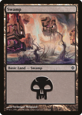 Swamp (239) [Rise of the Eldrazi] | Dragons Den Cards & Games