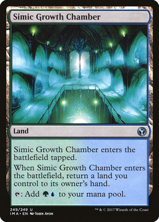 Simic Growth Chamber [Iconic Masters] | Dragons Den Cards & Games