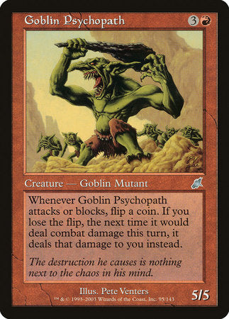 Goblin Psychopath [Scourge] | Dragons Den Cards & Games